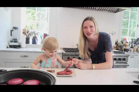 Red Beet Pancake Recipe