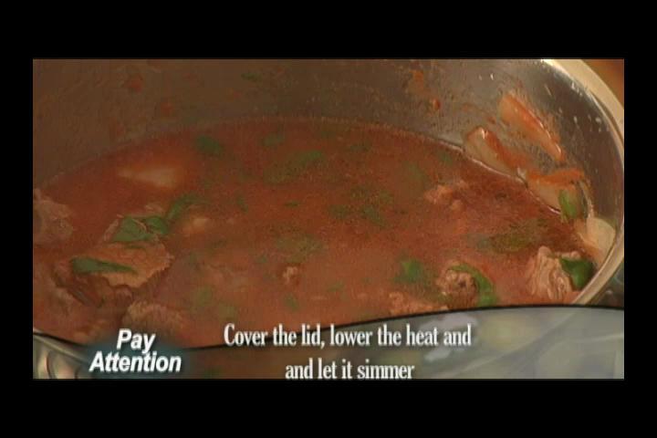 How to Make Tas Kebabi Part 2/4
