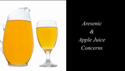 Arsenic and Apple Juice Concerns