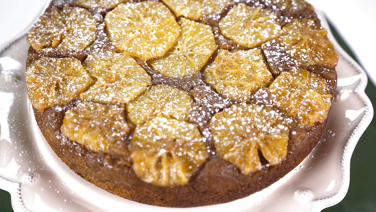 'The Chew': Ginger Orange Upside Down Cake Recipe: Part 2