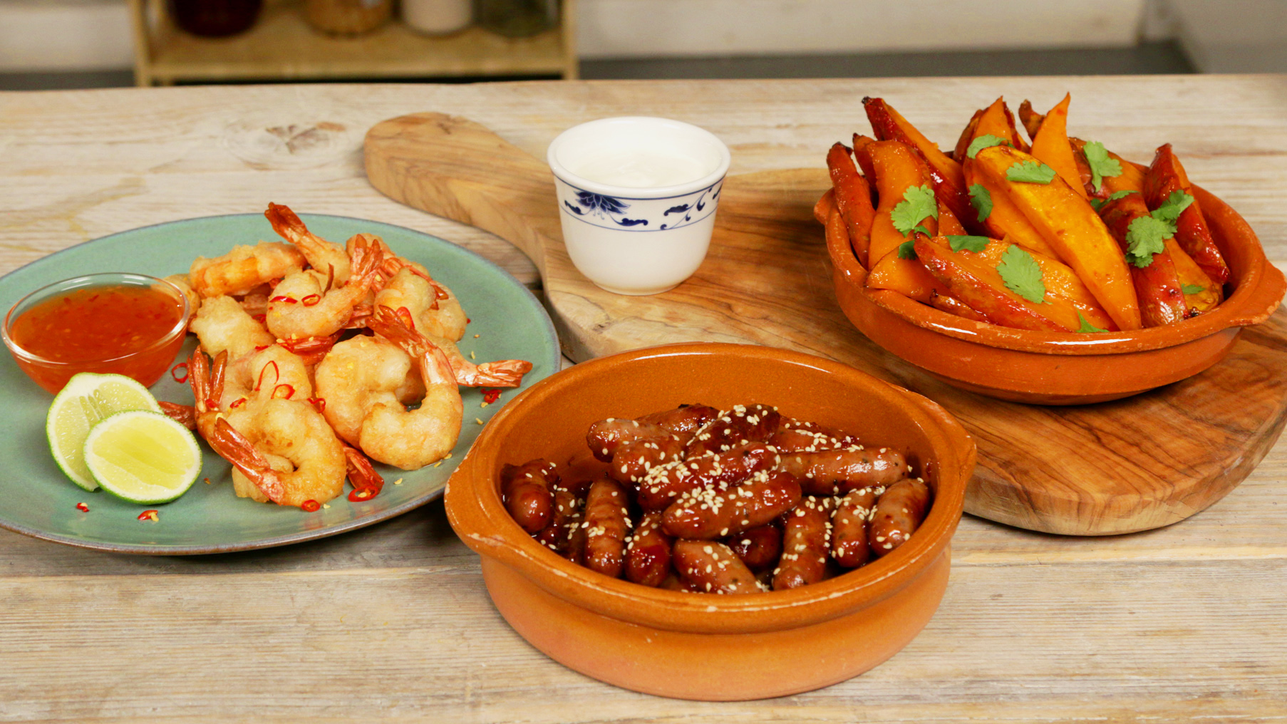 How to Make Sweet Chilli Party Snacks