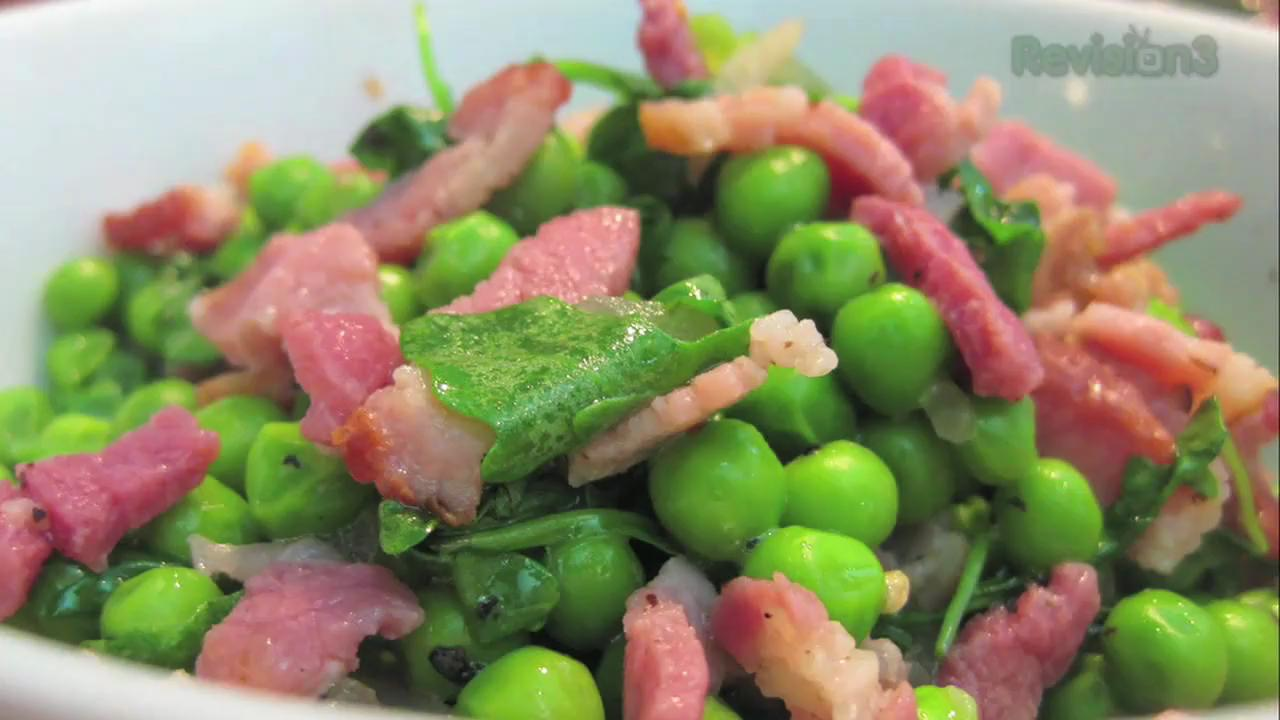 How to Make Peas and Bacon Salad