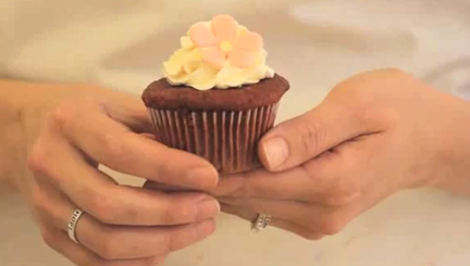 Mixing and Baking Chocolate Cupcakes