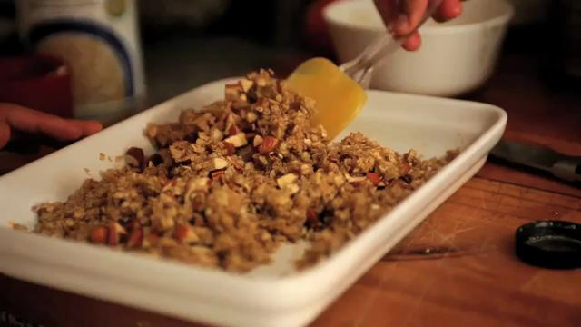 How To Make Granola and Fruit Compote