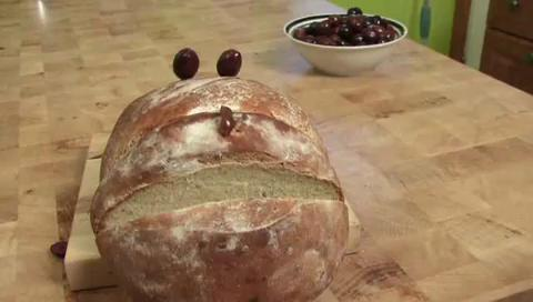 How to Bake Olive Bread