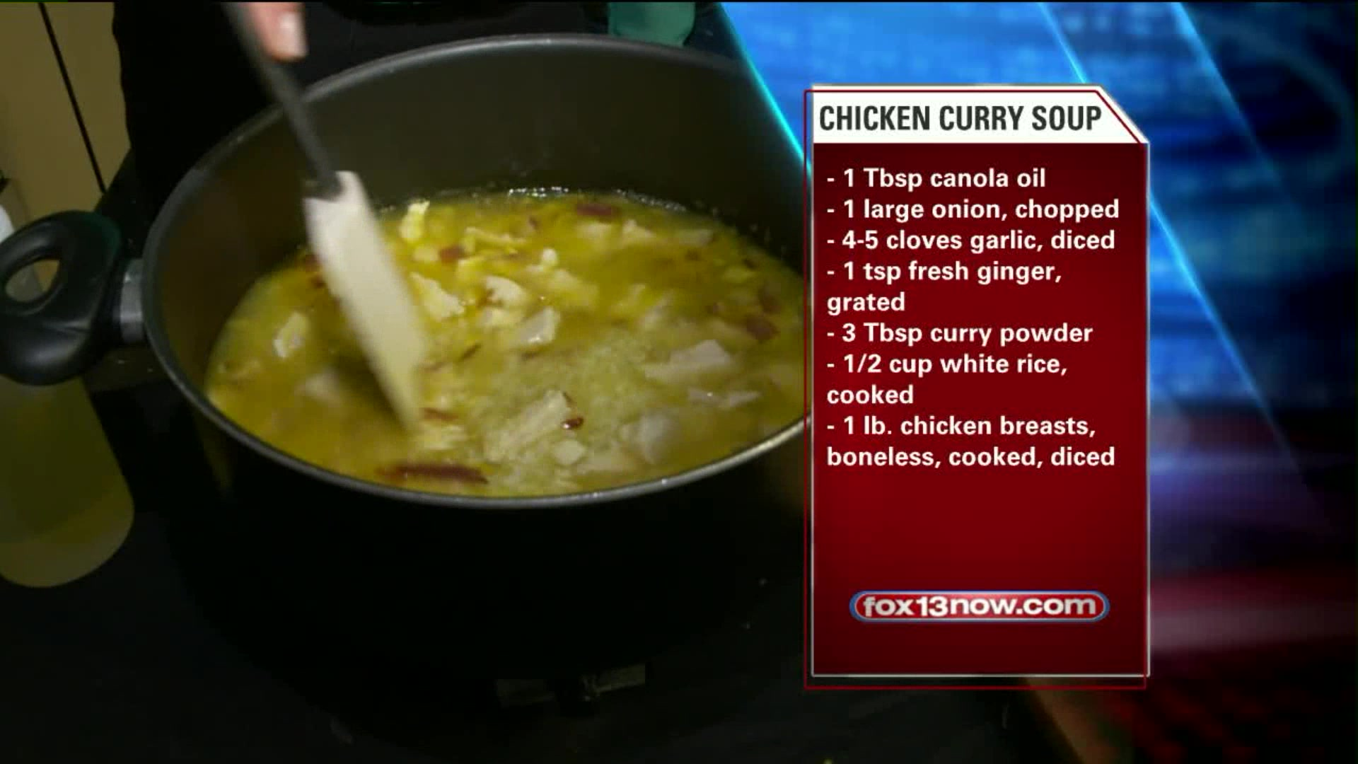 How To Make Chicken Curry And Rice Soup