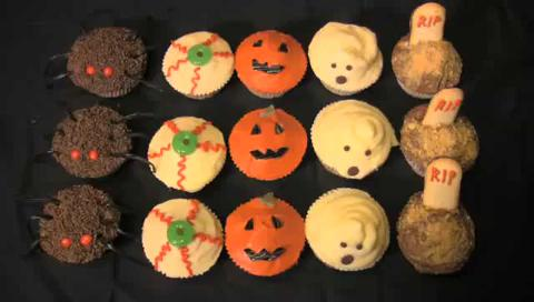 How to Make Halloween Cupcakes