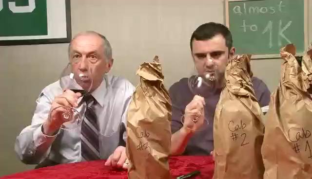 Blind 2007 Napa Cabernet Tasting with Sasha Vaynerchuk