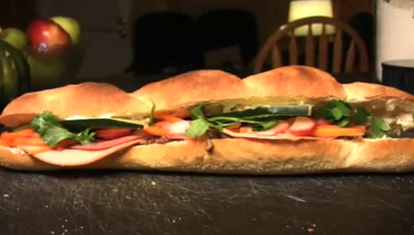 How to Make a Banh Mi Sandwich