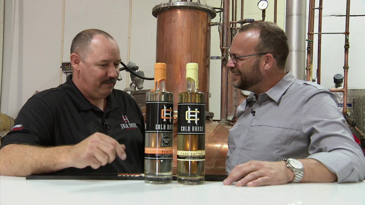 Distilling Outlaw Moonshine and Cold House Vodka in California