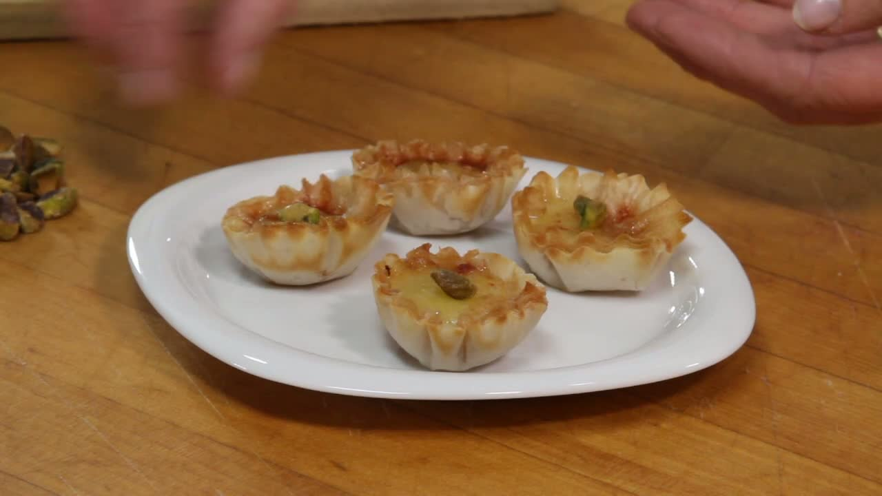 How to Make Durrus Cheese and Filo Bites