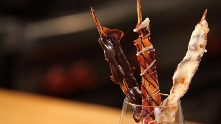 How to Make Chocolate-Covered Bacon