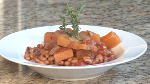 How to Make Spicy Pumpkin and Black Eyed Pea Stew
