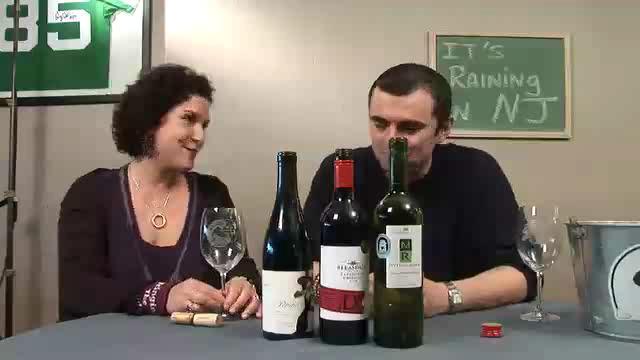 Discussing Cork vs. Screwcaps during a Grab Bag Wine Tasting