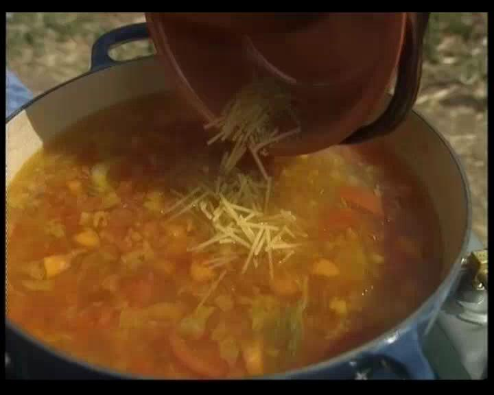 How to Make Minestrone Soup with Keith Floyd