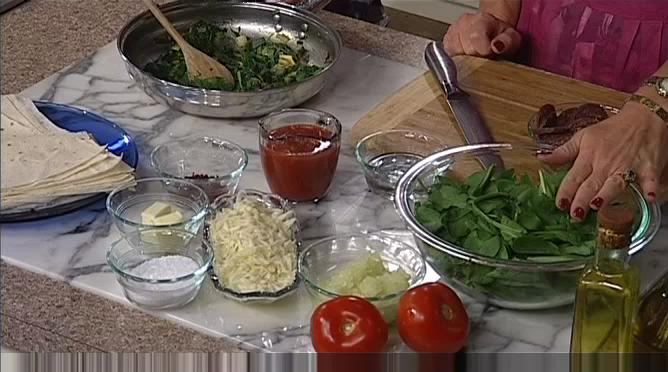 Spinach and Sucuk Borek Recipe
