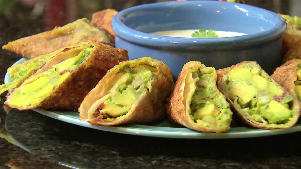 How to Make Avocado Egg Rolls