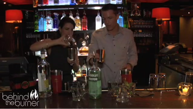 Absolut Boston Mojito Cocktail Recipe