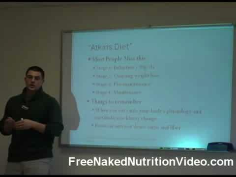 How to Follow the Atkins Low Carb Diet Plan Part 1/2