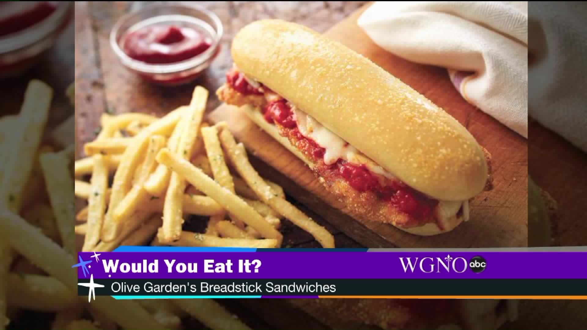 Would You Eat It? Olive Garden Introduces New Breadstick Sandwich