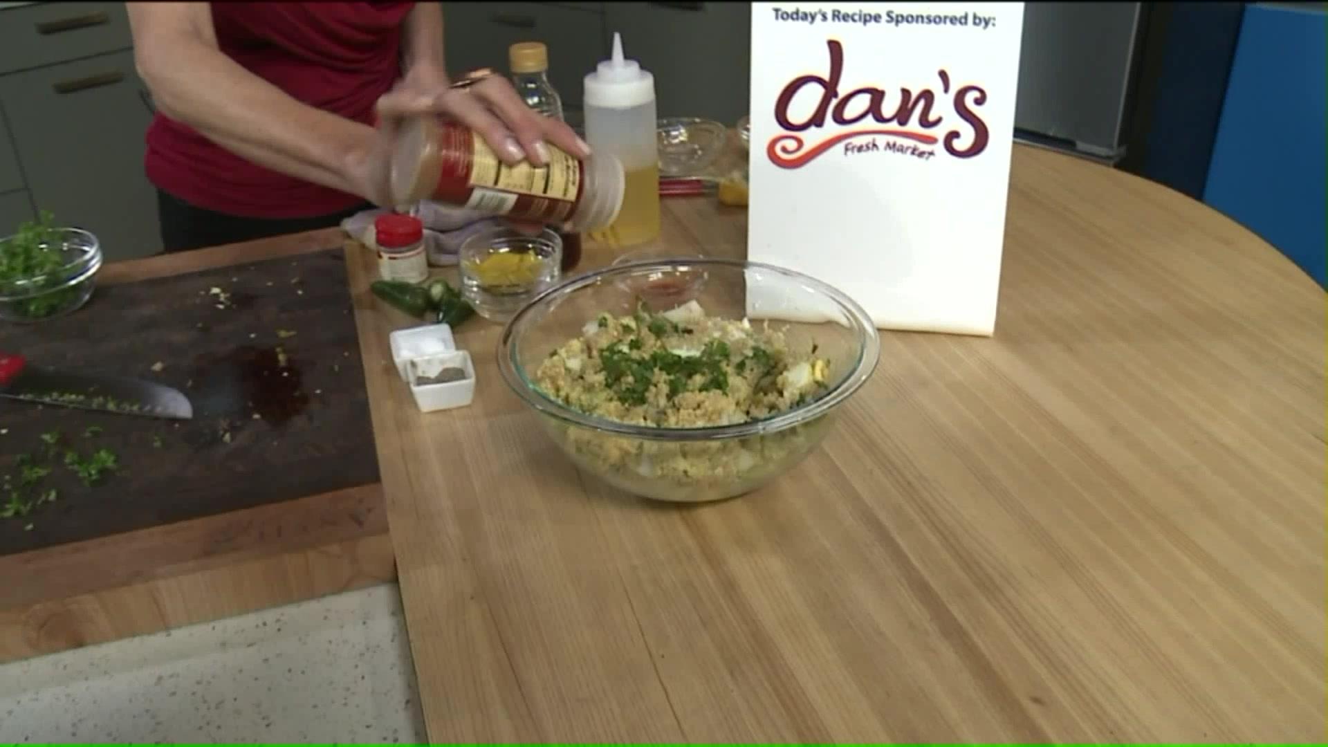 How To Make a Kicked-Up Quinoa Salad