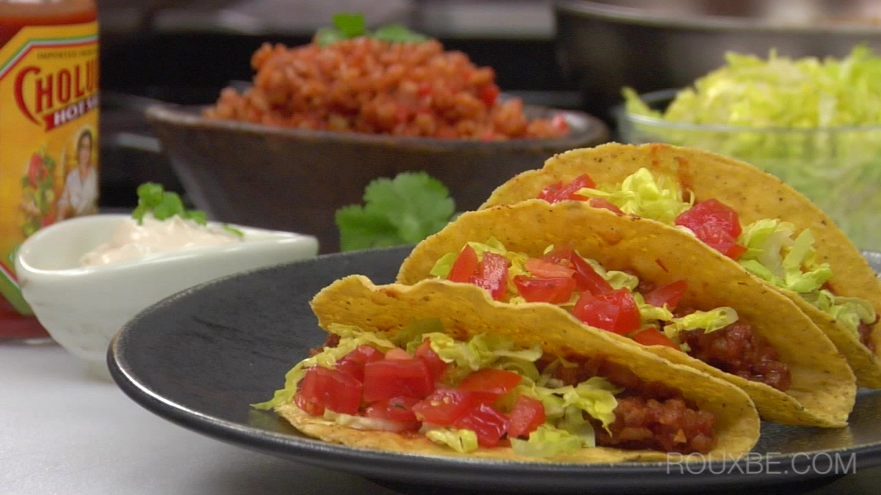 How to Make Beefless Tacos I Plant-Based