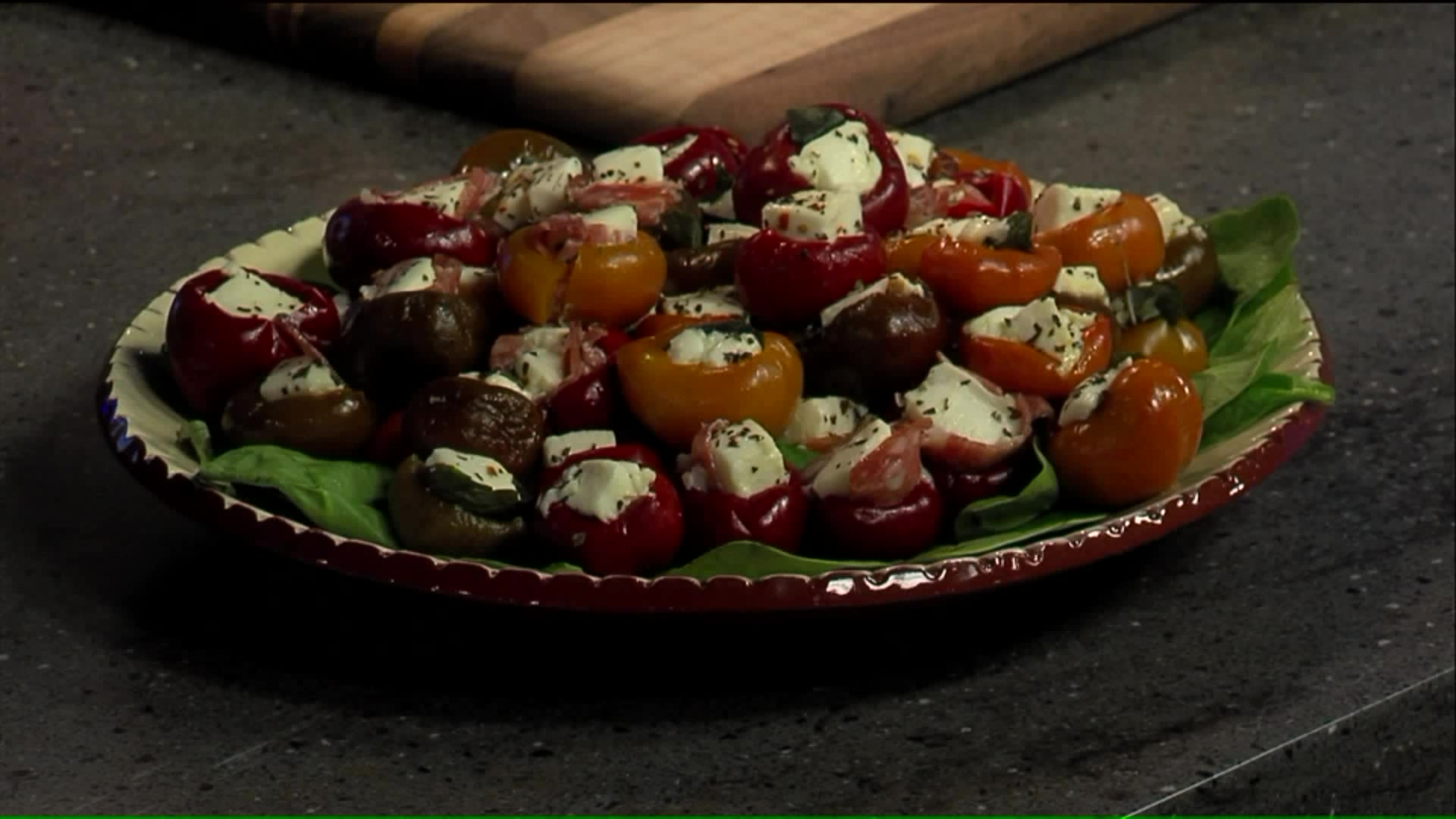 How To Make Mozzarella-Stuffed Cherry Peppers