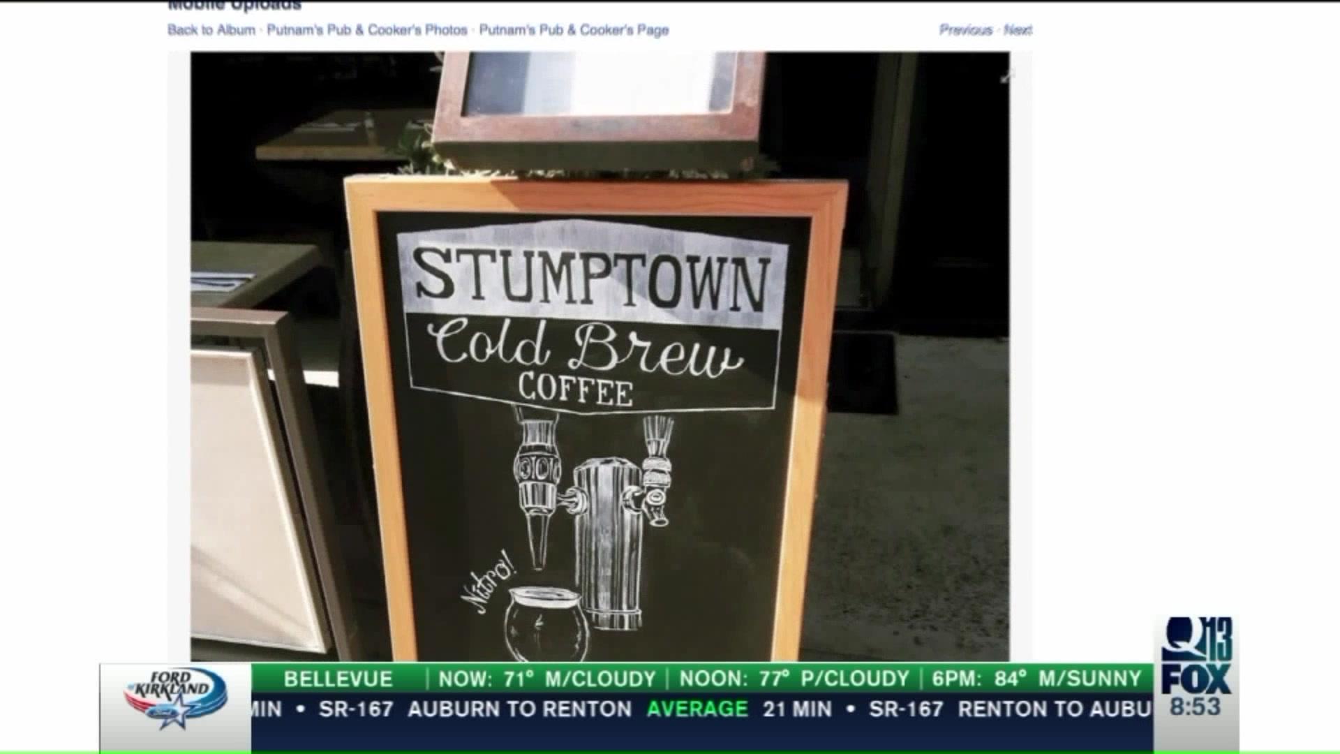 Nitro Cold Brew Takes Coffee Drinking To The Next Level