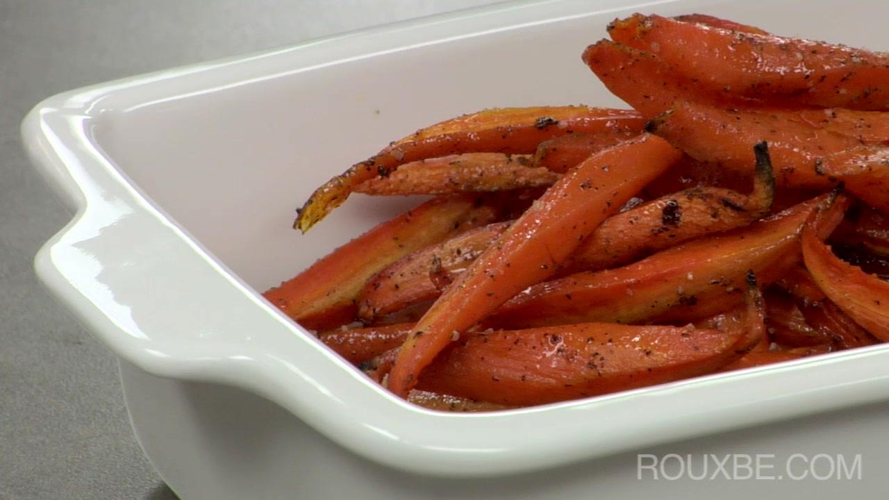 Roasted Glazed Carrots  | Plant-Based
