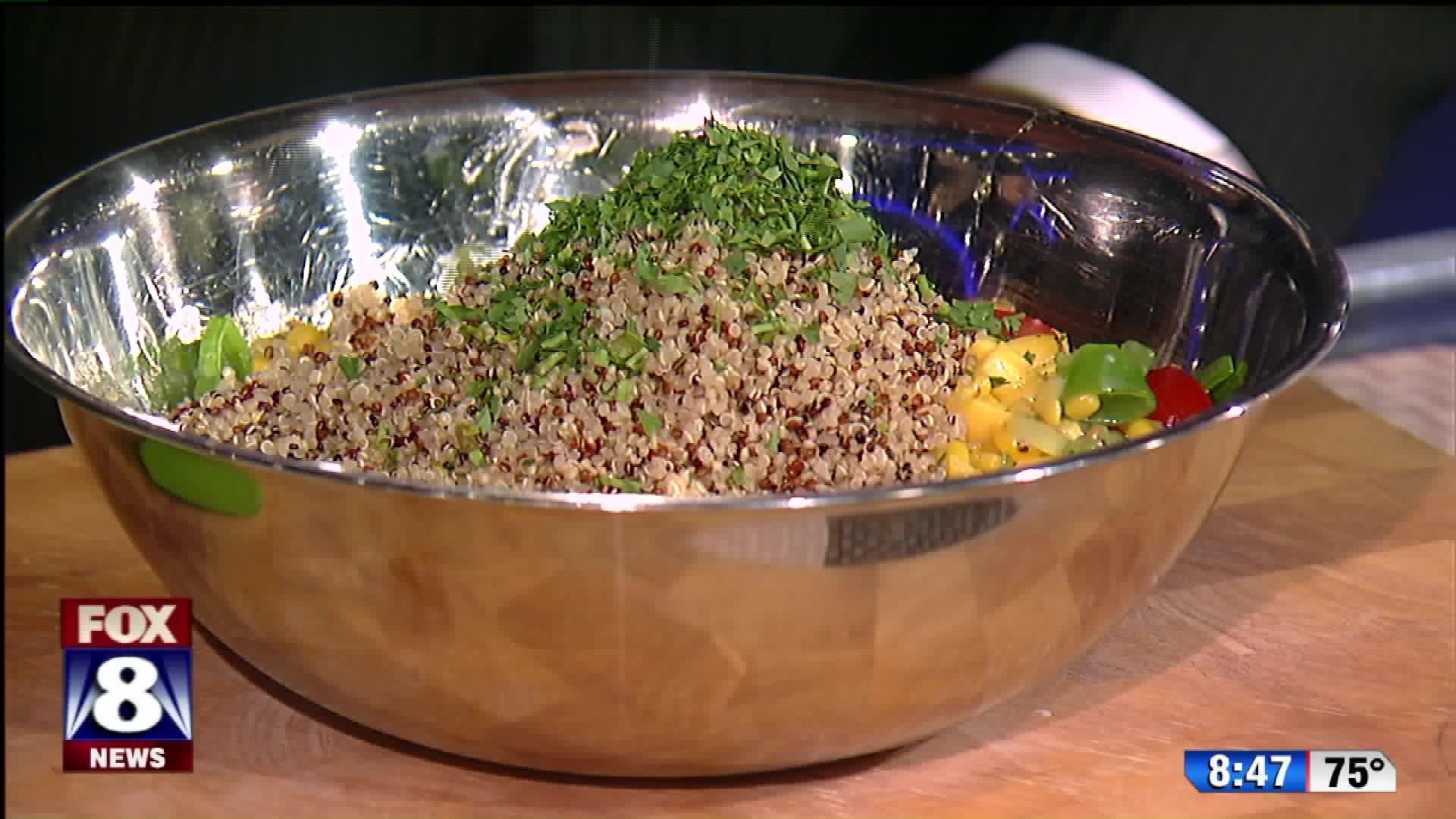 How To Make A Delicious Summer Quinoa Salad
