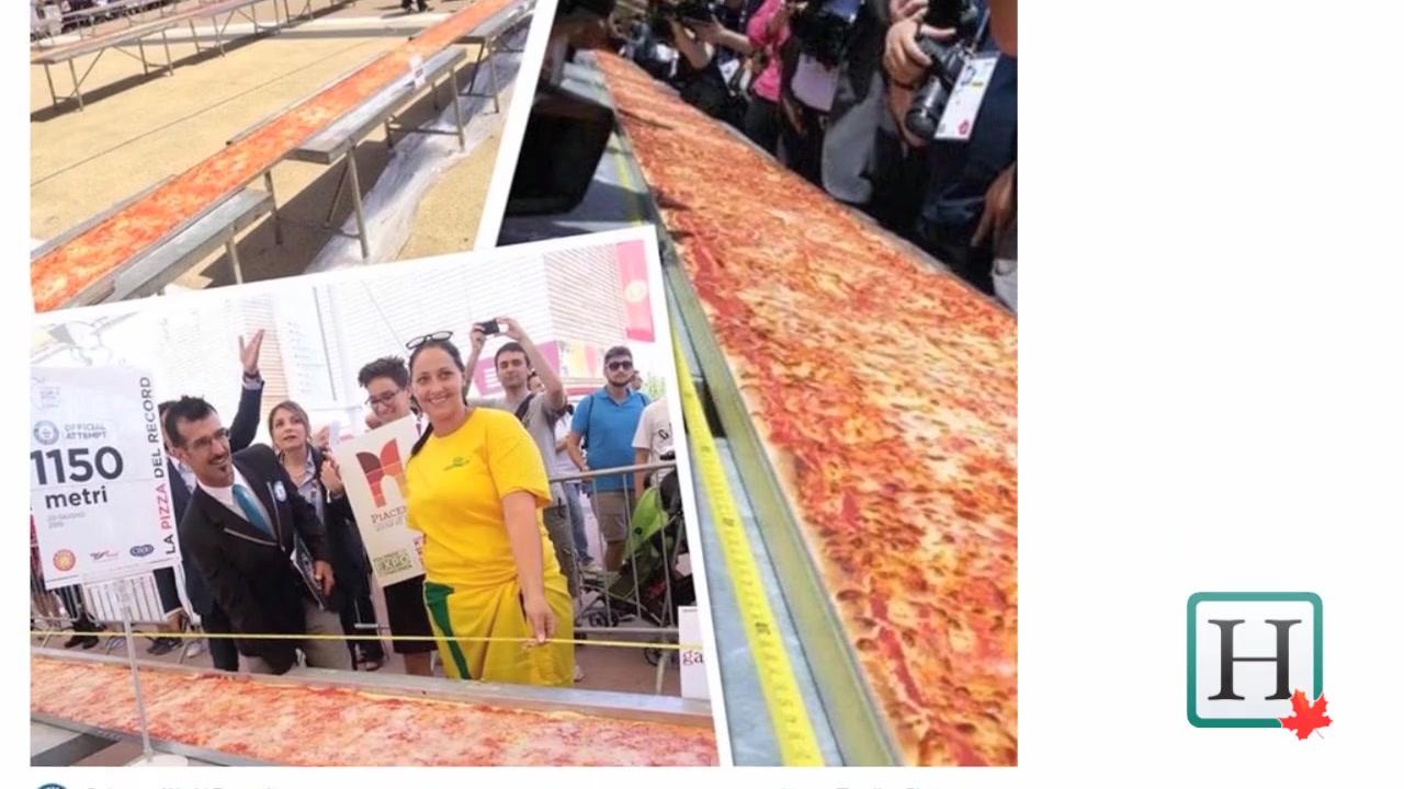 The World's Longest Pizza