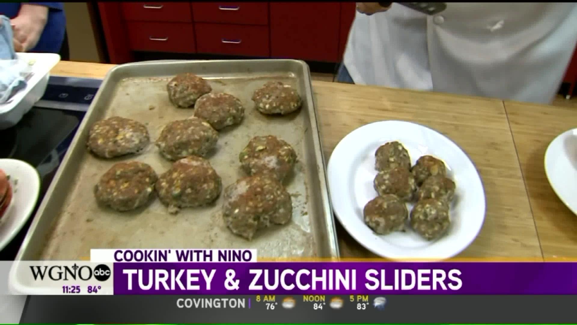 How to Make Turkey and Zucchini Sliders