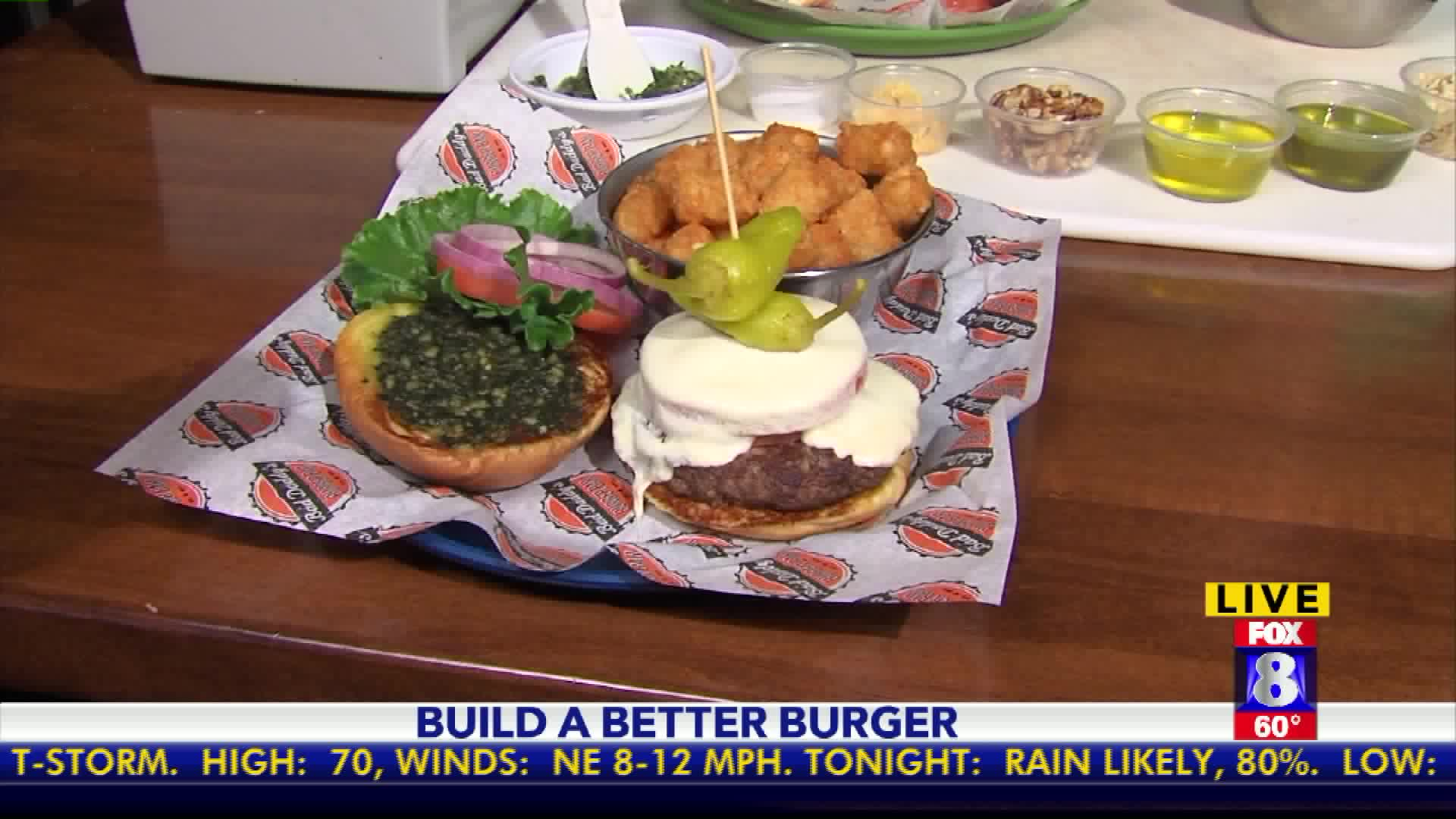 How to Make an Italian-Style Burger
