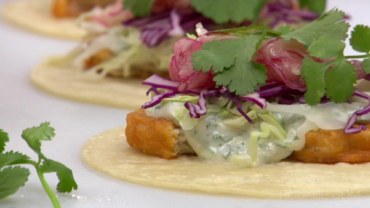 How to Make Baja Fishless Tacos I Plant-Based