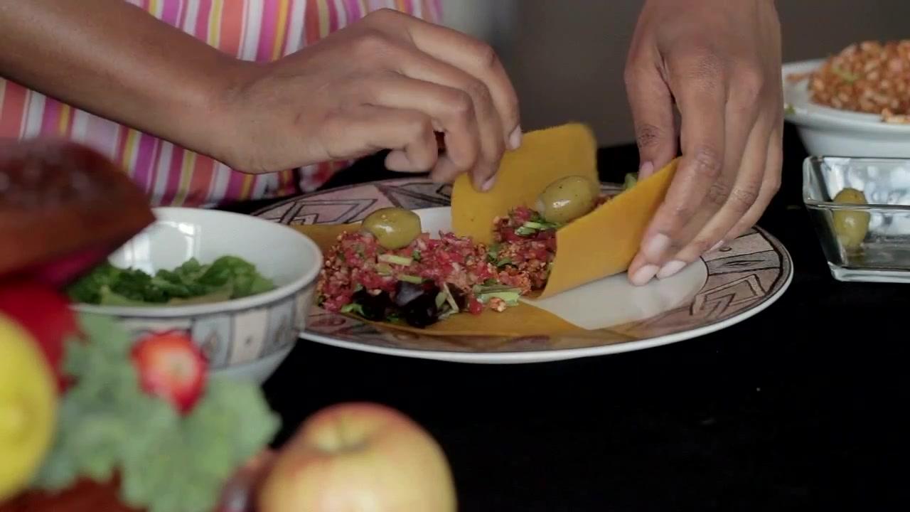 How to Make Raw Italian Tacos