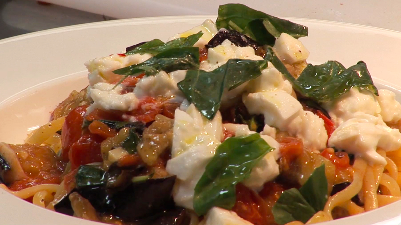 How to Make Aubergine Linguine with Theo Randall