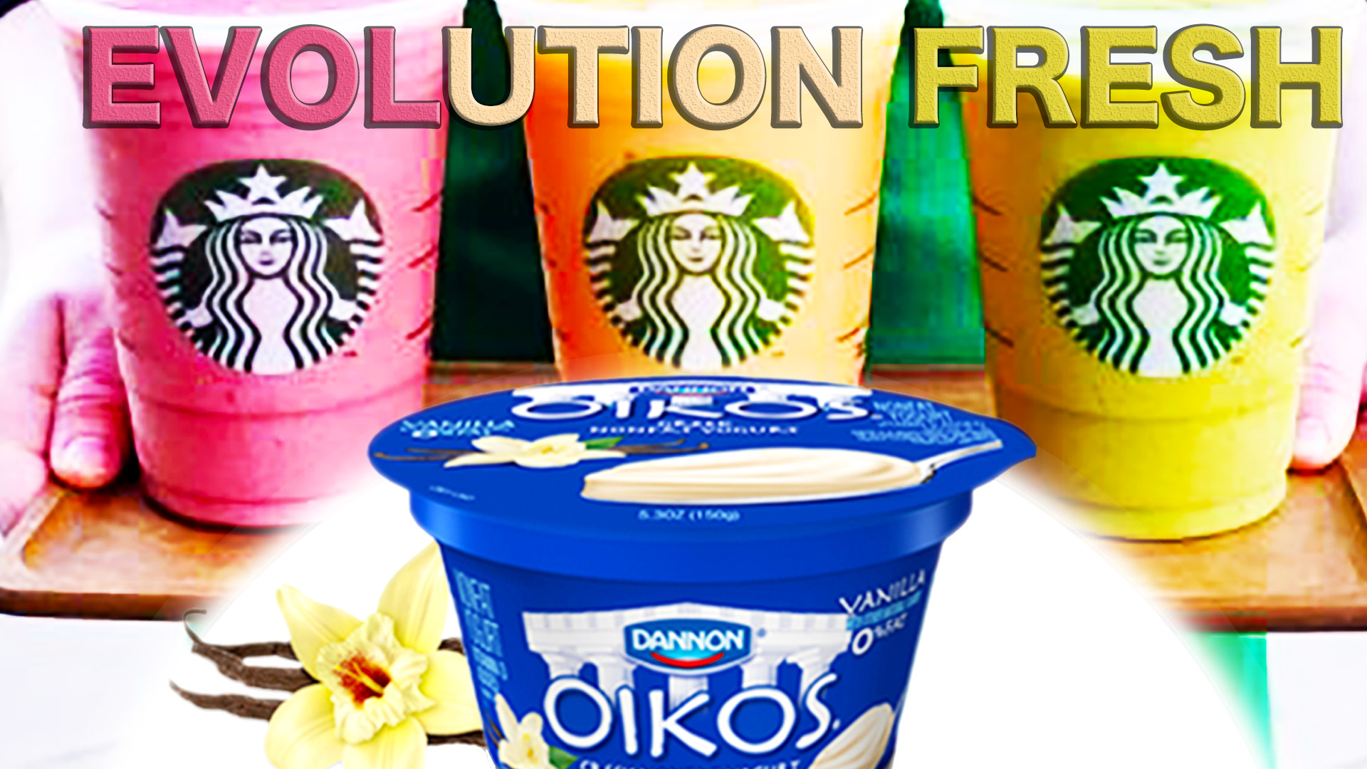 Dannon Yogurt Gives Starbucks Evolution Smoothies A Healthy Mashup