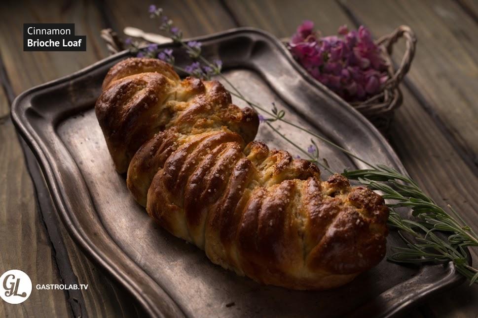 How to Make a Cinnamon Brioche Loaf