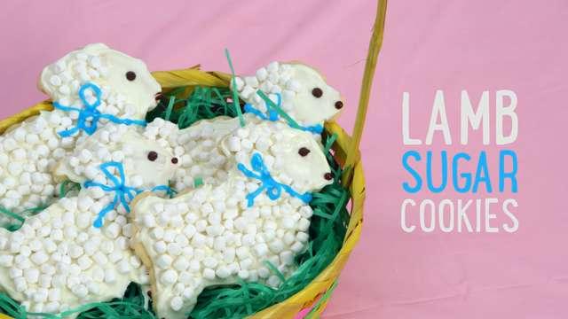 How to Make Easter Lamb Cookies