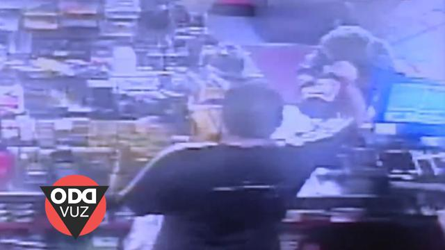 Clerk Bashes Robber with Beer Bottle Over the Head