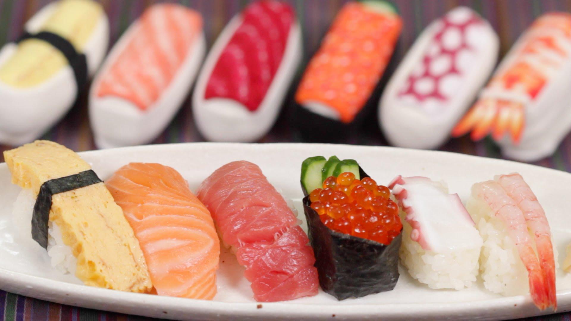 Nigiri Sushi and Sushi Socks Recipe
