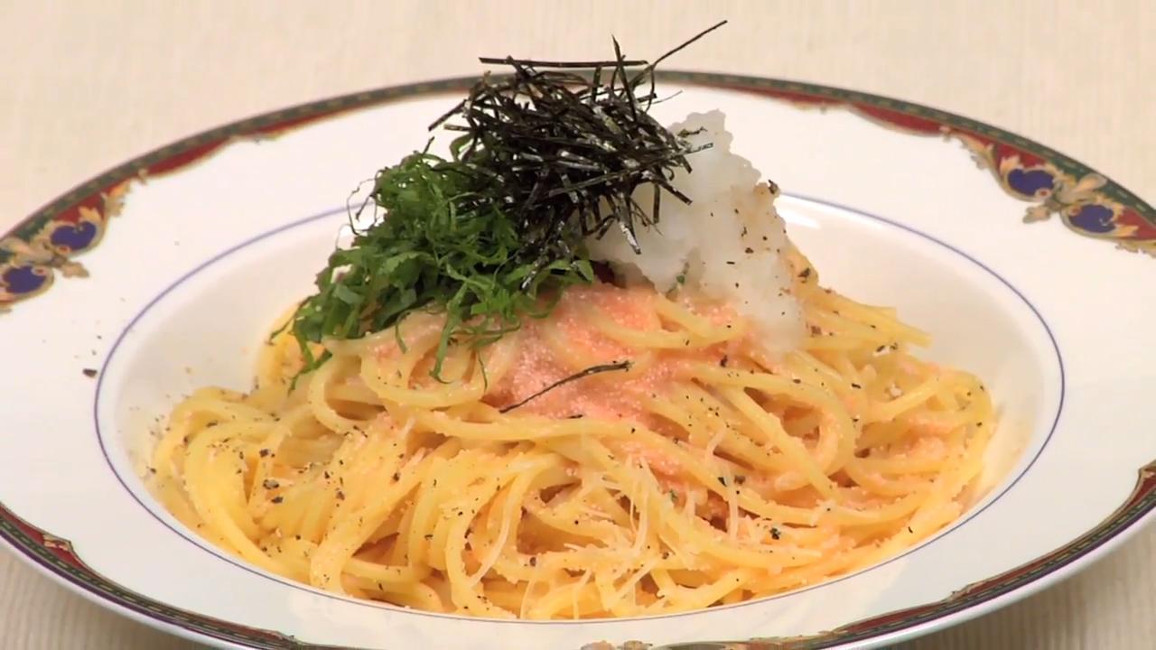 Mentaiko Spaghetti Recipe