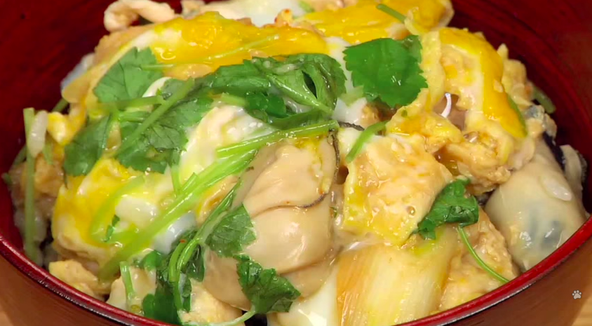 How to Make Oyster Egg-Drop Donburi