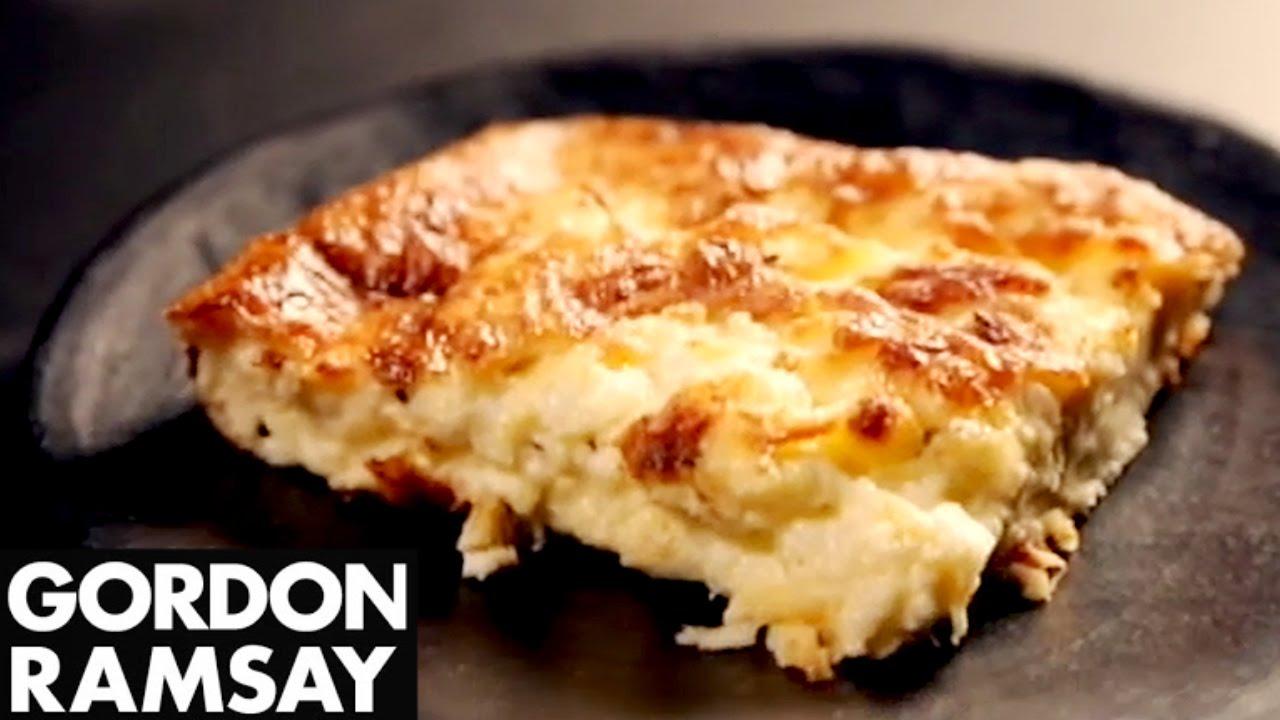 Easy Three Cheeses Souffle Recipe With Gordon Ramsay