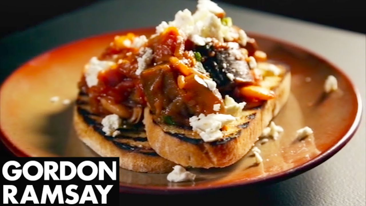 Tasty Slow-Cooked Aubergine Recipe With Gordon Ramsay