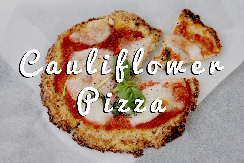 Gluten Free Cauliflower Pizza Recipe
