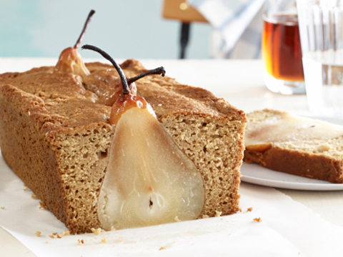 How to Make Poached Pear Bread