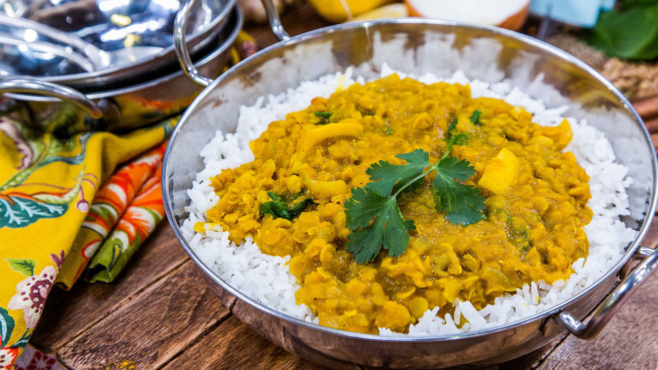How to Make Red Lentil Daal