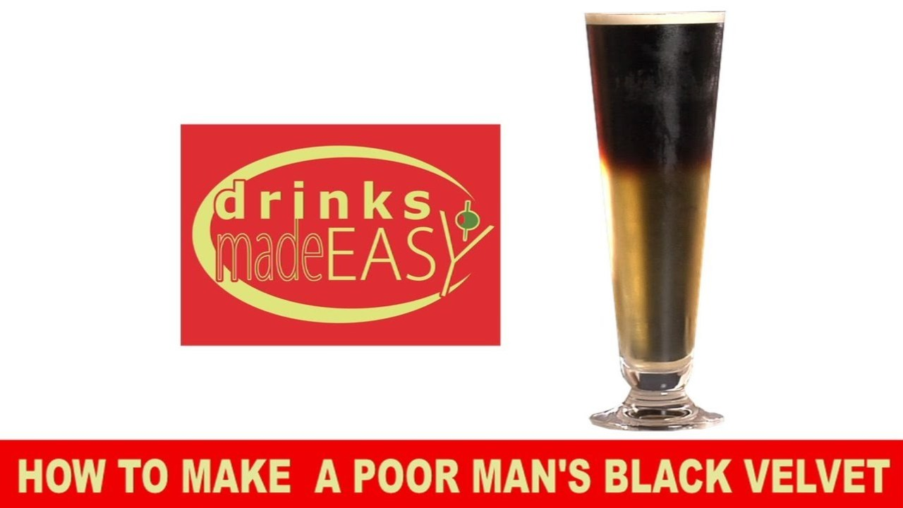How to Make a Poor Man's Black Velvet