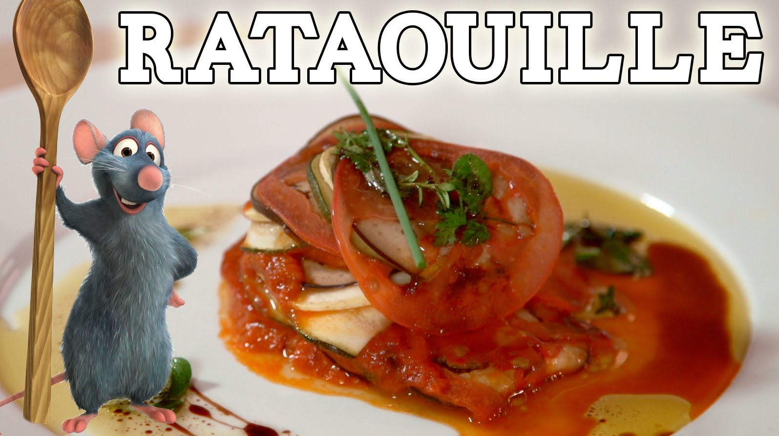 How to Make Ratatouille from the Movie 'Ratatouille'